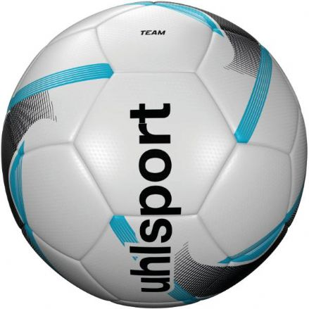 Uhlsport Team White / Black / Ice Blue Size 3 Training Ball